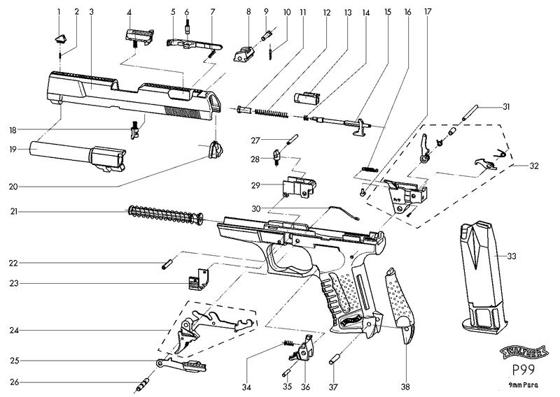 Sig Sauer P226 Disassembly Manual