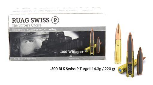 Ruag Remington 300 Whisper 300 Blackout Munition